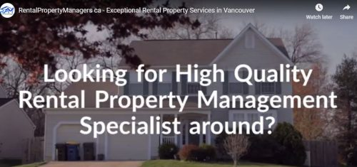 Rental Property Management and Manger