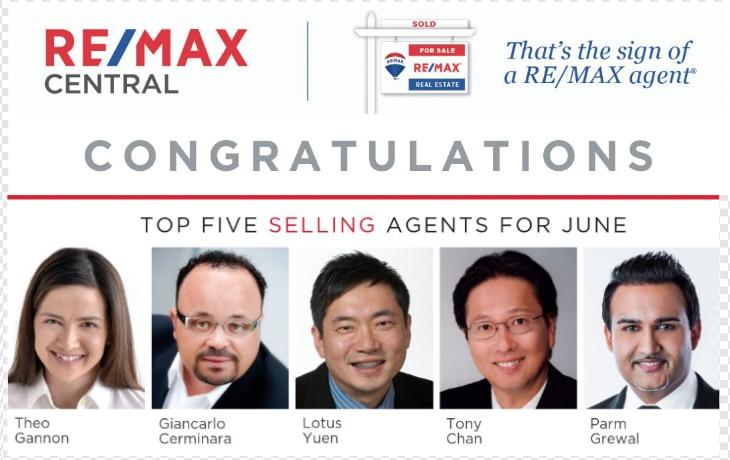 Top 5 REMAX Realtor  Lotus Yuen PREC