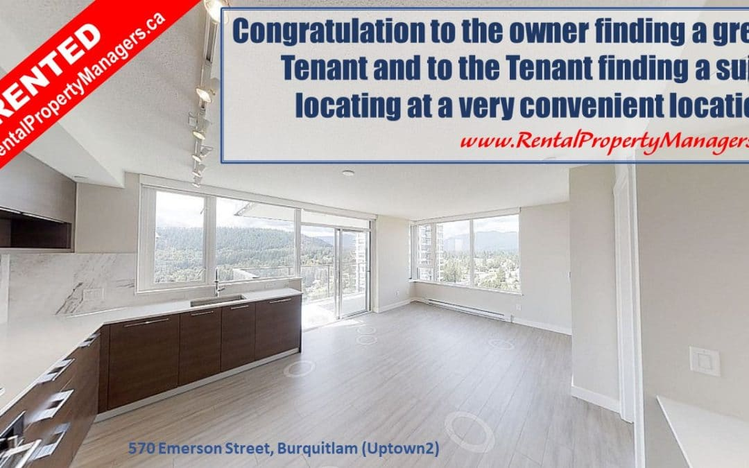 [RENTED] RentalPropertyManagers.ca-180' Mountain view! Burquitlam Condo at Uptown2
