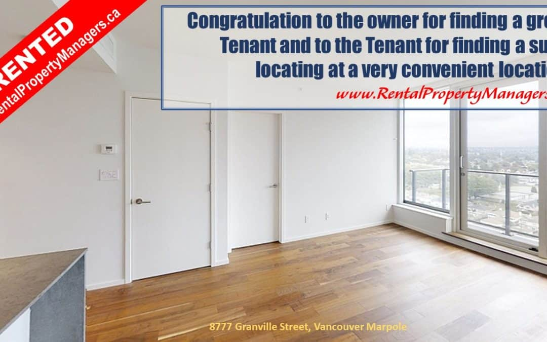[RENTED]180' Breathtaking view! Luxurious Condo in Vancouver Marpole (Granville At 70th)