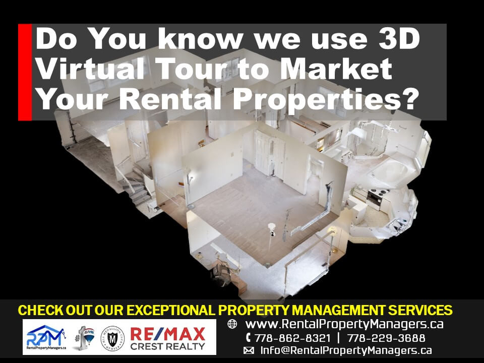 [RENTAL PROPERTY SERVICES] Do You Know We Use 3D Virtual Tour to Market Your Rental Properties?