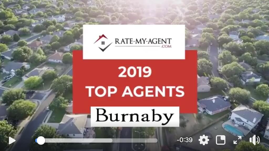 2019 Top 5 Rated Agents in Burnaby (Rate-My-Agent.com) – Lotus Yuen PREC