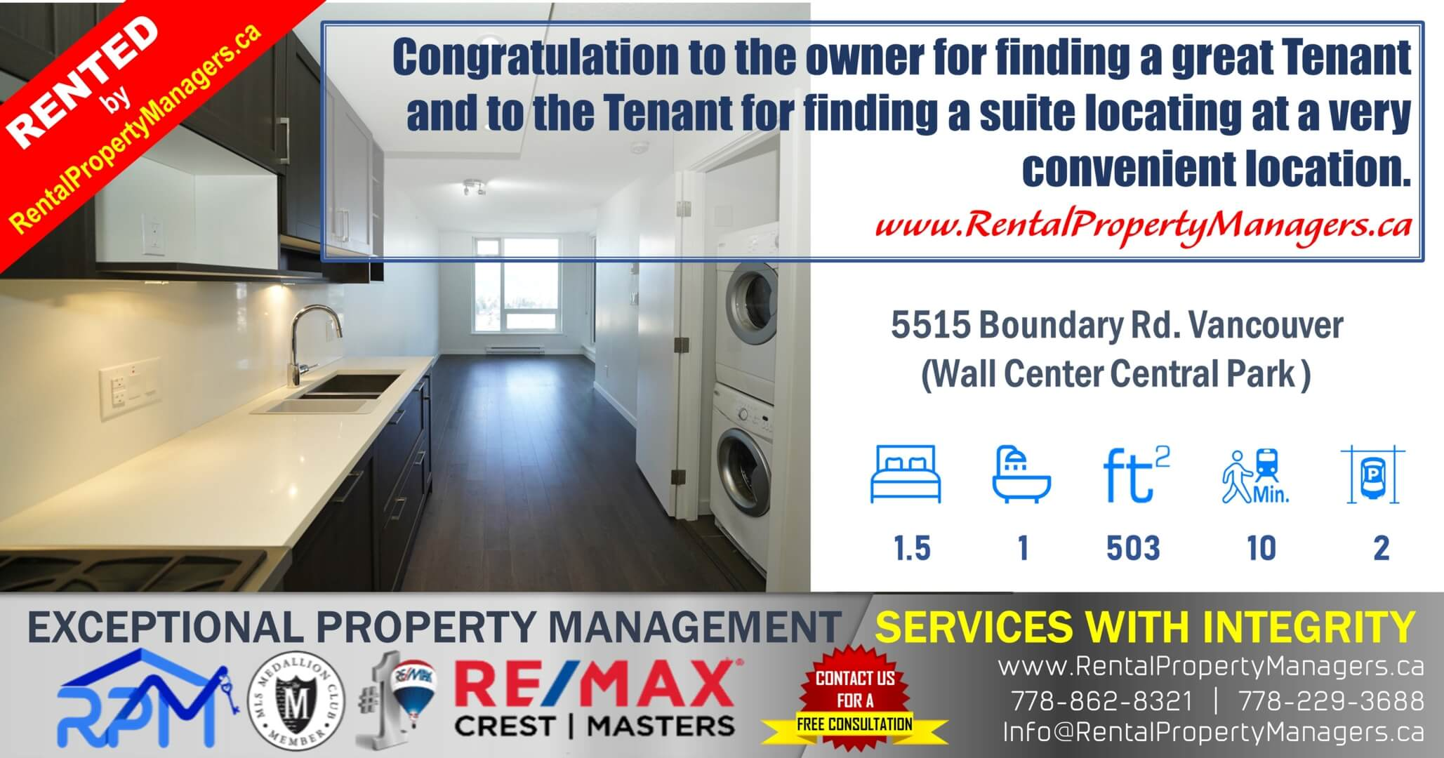 RPM-Exceptional Rental Property Management Services in Greater Vancouver