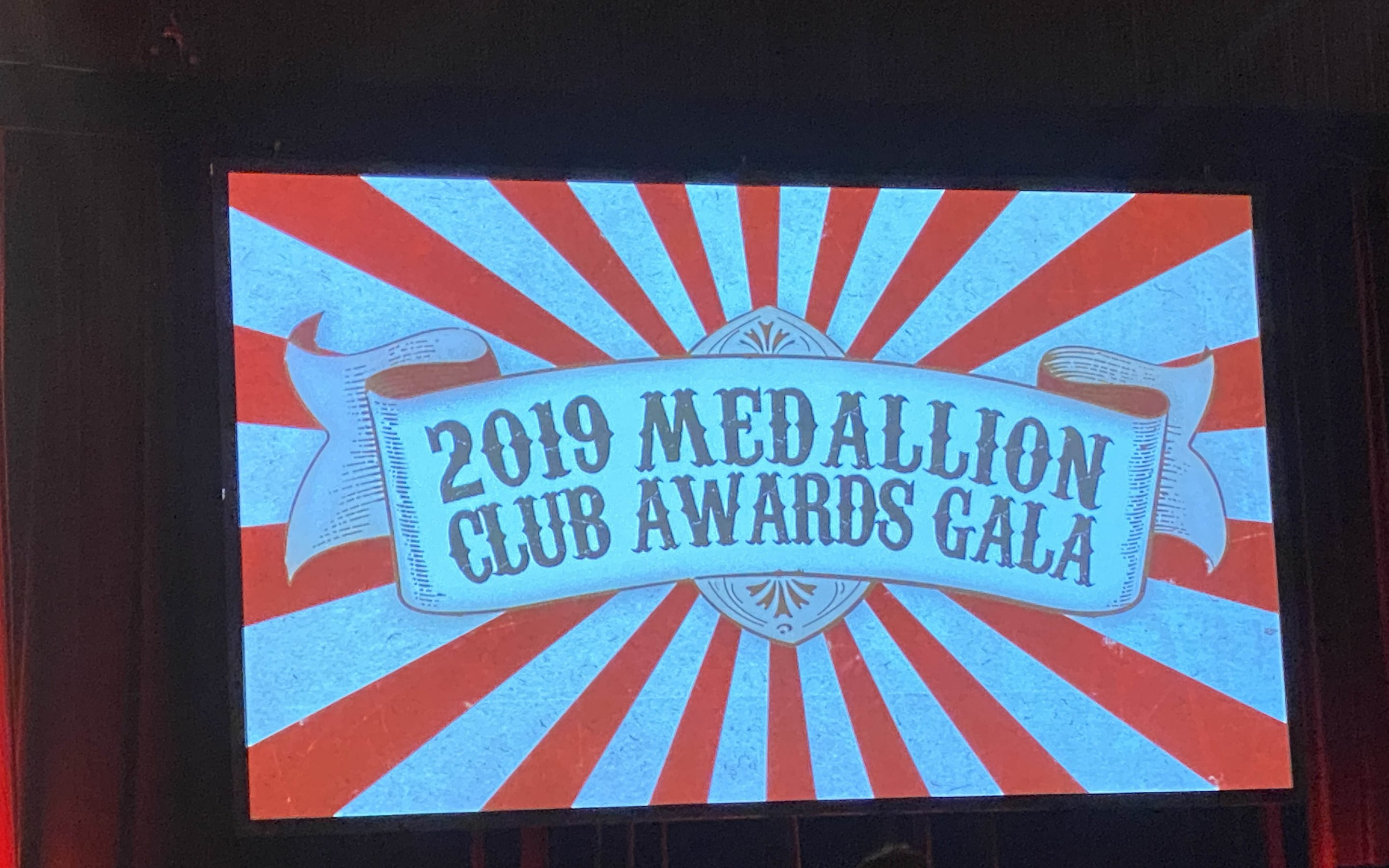 2019 Medallion Club Awards Gala with licensed Rental Property Management Team