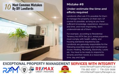 [10 Common Mistakes by DIY Landlords] Mistake #8 Under-estimate the time and efforts required