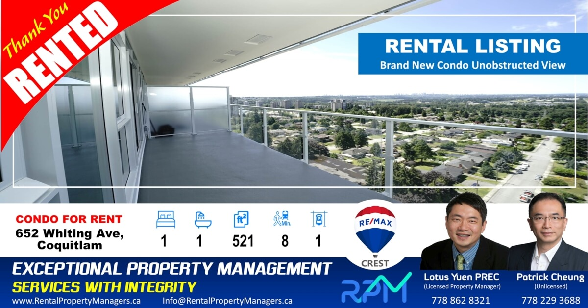 RentalPropertyManagers.ca-Rented-1906-652 Whiting Way Coquitlam-LYU022