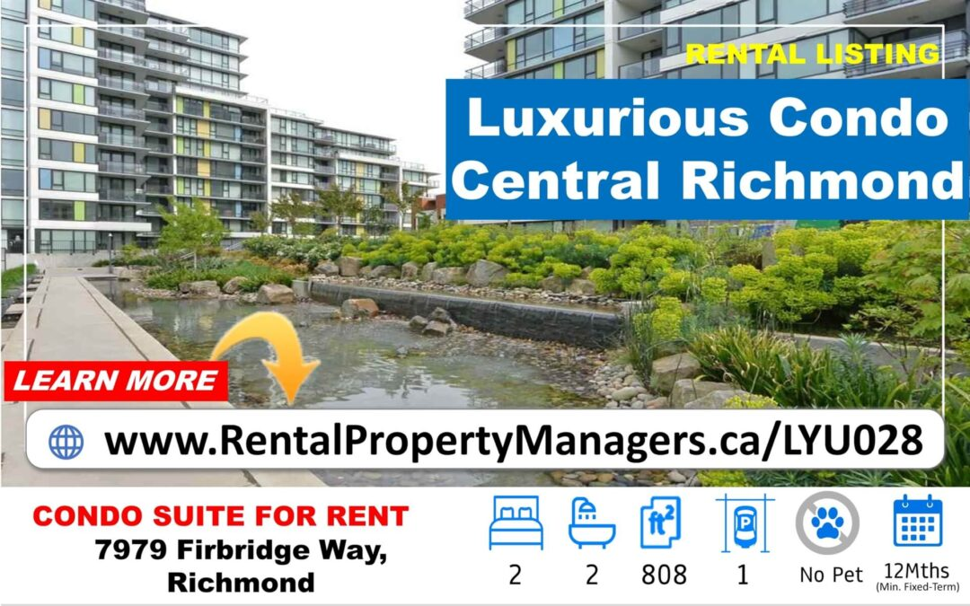[FOR RENT] Luxurious condo with Mountain&City View (Quintet Tower) in Richmond