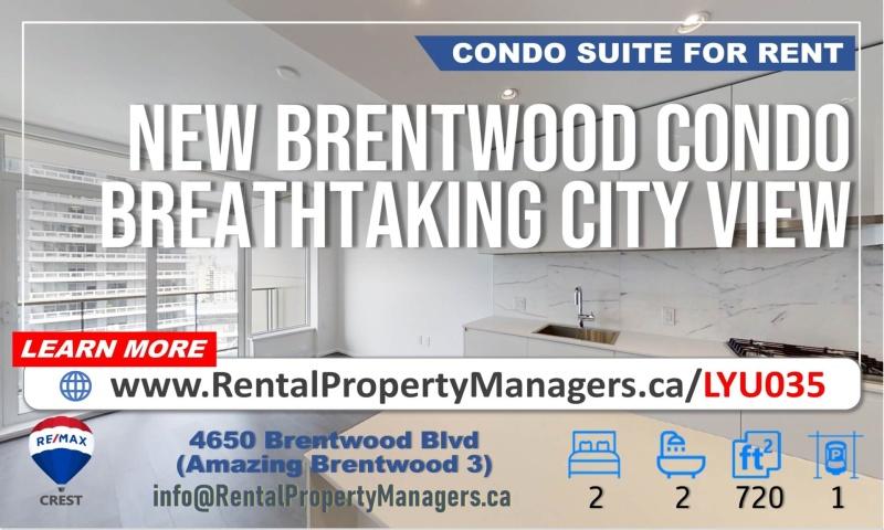 #1406-4650 Brentwood Boulevard, Burnaby, 2 Bedrooms Bedrooms, ,2 BathroomsBathrooms,Condo,For Rent,#1406-4650 Brentwood Boulevard, Burnaby,1064